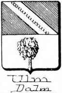 Ulm Coat of Arms / Family Crest 1