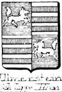 Ulmenstein Coat of Arms / Family Crest 2