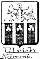 Ulrich Coat of Arms / Family Crest 2
