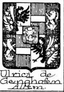 Ulrici Coat of Arms / Family Crest 1