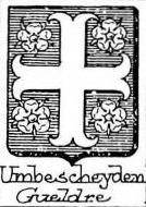 Umbescheyden Coat of Arms / Family Crest 0