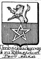 Umbscheiden Coat of Arms / Family Crest 1