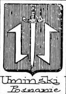 Uminski Coat of Arms / Family Crest 0