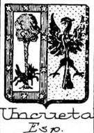 Uncueta Coat of Arms / Family Crest 0