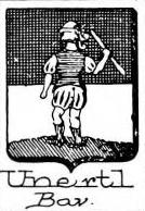 Unertl Coat of Arms / Family Crest 1