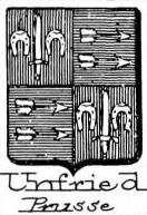 Unfried Coat of Arms / Family Crest 2