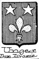 Unger Coat of Arms / Family Crest 3
