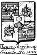 Ungern Coat of Arms / Family Crest 3