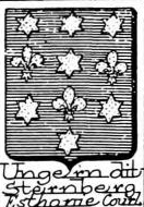 Ungern Coat of Arms / Family Crest 1