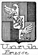 Unruh Coat of Arms / Family Crest 2