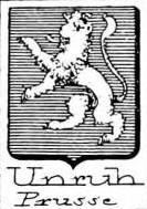 Unruh Coat of Arms / Family Crest 1