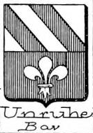 Unruhe Coat of Arms / Family Crest 3