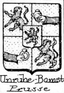 Unruhe Coat of Arms / Family Crest 4