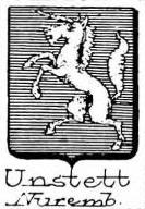 Unstett Coat of Arms / Family Crest 0