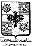 Unverfaerth Coat of Arms / Family Crest 1