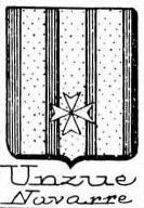 Unzue Coat of Arms / Family Crest 1