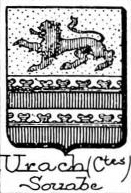 Urach Coat of Arms / Family Crest 2