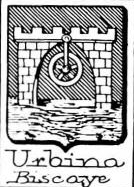 Urbina Coat of Arms / Family Crest 2