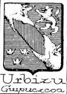Urbizu Coat of Arms / Family Crest 1