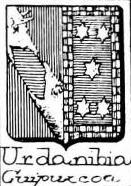 Urdanibia Coat of Arms / Family Crest 2
