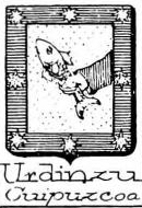 Urdinzu Coat of Arms / Family Crest 0