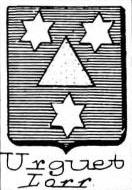 Urguet Coat of Arms / Family Crest 0
