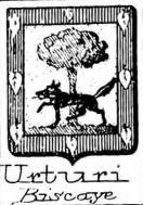 Urturi Coat of Arms / Family Crest 2