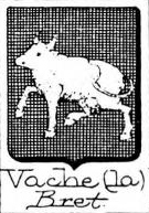 Vache Coat of Arms / Family Crest 1