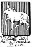 Vache Coat of Arms / Family Crest 3