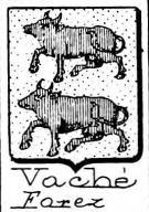 Vache Coat of Arms / Family Crest 4