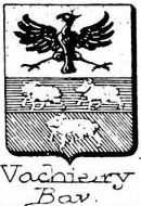 Vachiery Coat of Arms / Family Crest 1