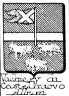 Vachiery Coat of Arms / Family Crest 2