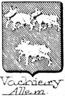Vachiery Coat of Arms / Family Crest 0