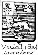 Vahl Coat of Arms / Family Crest 1