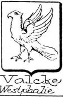 Valcke Coat of Arms / Family Crest 2