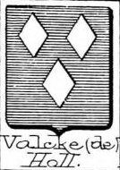 Valcke Coat of Arms / Family Crest 3
