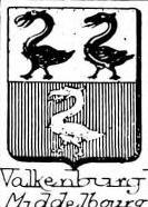 Valkenburg Coat of Arms / Family Crest 1