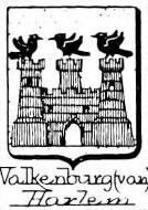 Valkenburg Coat of Arms / Family Crest 2