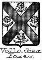 Valladier Coat of Arms / Family Crest 0