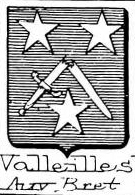 Valleilles Coat of Arms / Family Crest 0