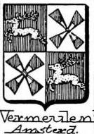Vermeulen Coat of Arms / Family Crest 2