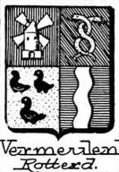Vermeulen Coat of Arms / Family Crest 3
