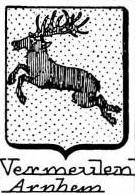 Vermeulen Coat of Arms / Family Crest 8