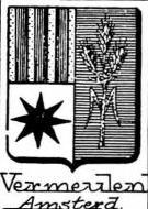 Vermeulen Coat of Arms / Family Crest 1