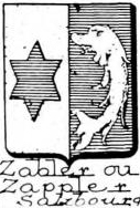 Zabler Coat of Arms / Family Crest 0