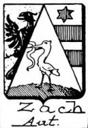 Zach Coat of Arms / Family Crest 3