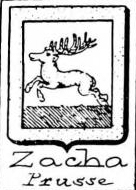 Zacha Coat of Arms / Family Crest 0