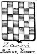 Zachi Coat of Arms / Family Crest 0
