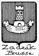 Zadzik Coat of Arms / Family Crest 0