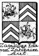 Zagelauer Coat of Arms / Family Crest 0
